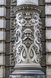 Beautiful decoration on a building facade in Vienna, Austria Stock Photo