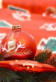 Beautiful decoration for christmas Stock Image