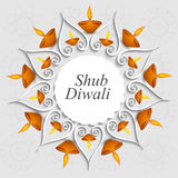 Beautiful decoration Diwali diya celebration  Stock Photos