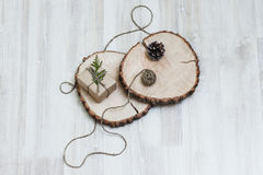 Beautiful decoration in eco style Stock Images