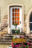 Beautiful decoration elements of alsace streets Royalty Free Stock Photography