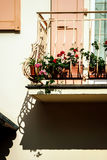 Beautiful decoration elements of alsace streets Stock Images