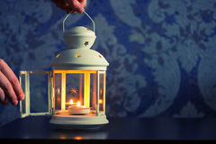 Beautiful decoration lantern or candle holder Royalty Free Stock Photography