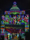 A beautiful decoration on a hindu occasion. stock images
