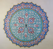 Beautiful decoration on the roof of Topkapi Palace, Istanbul, Tu Royalty Free Stock Image
