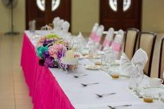 Decoration for wedding ceremony Royalty Free Stock Image