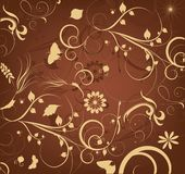 Beautiful decorative backgound Royalty Free Stock Image