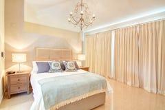 Beautiful decorative bedroom. Royalty Free Stock Photos