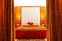 Beautiful and decorative bedroom Stock Photo