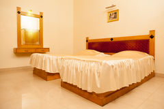 Beautiful and decorative bedroom Stock Photos