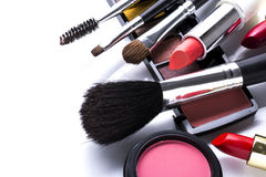 Beautiful decorative cosmetics Royalty Free Stock Photo