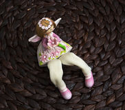 Beautiful decorative doll Royalty Free Stock Photos
