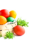 Beautiful decorative easter eggs Royalty Free Stock Image