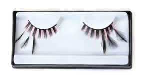 Beautiful decorative eyelashes Royalty Free Stock Photo