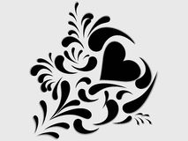 A beautiful decorative floral Stock Image