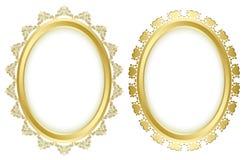 Beautiful decorative frames - vector set Royalty Free Stock Photo
