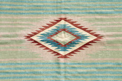 Beautiful, decorative handmade antique rugs Stock Image