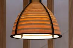 Beautiful decorative lamp royalty free stock photo
