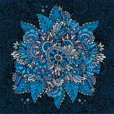 Beautiful decorative nature ornamental background. Beautiful decorative nature hand drawn ornamental background Stock Photos