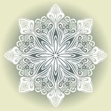 Beautiful Decorative Snowflake Royalty Free Stock Image