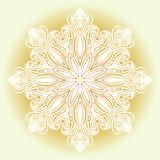 Beautiful Decorative Snowflake Royalty Free Stock Photography