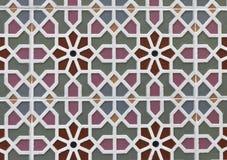 Beautiful decorative wall tiles background stock image