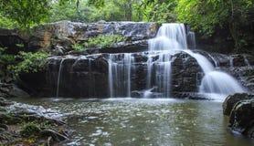 Beautiful Deep forest waterfall call Pangsida waterfall Royalty Free Stock Photography