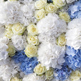 Beautiful and delicate bouquet of white rose Stock Image