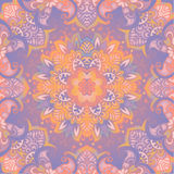Beautiful delicate mandala. Vector pastel color background Royalty Free Stock Photo