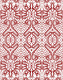 Beautiful delicate openwork lace. Vector illustration Stock Image