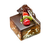 Beautiful delicious chocolate cake Royalty Free Stock Photo