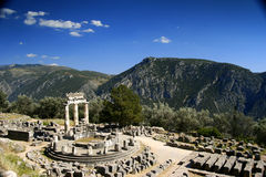 Beautiful Delphi Royalty Free Stock Photography