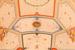 Beautiful Depicted Ceiling Royalty Free Stock Photos