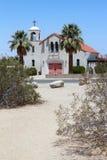 Beautiful Desert Church Stock Image