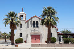 Beautiful Desert Church Stock Photos