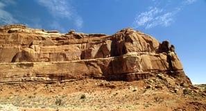 Beautiful Desert Mountains Royalty Free Stock Image