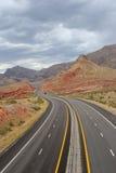 Beautiful desert road Royalty Free Stock Image