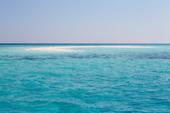 Beautiful Deserted Beach Royalty Free Stock Images