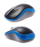 Beautiful design of a computer wireless mouse Royalty Free Stock Photo