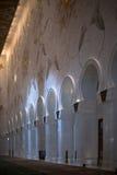 Beautiful design inside Zayed mosque, Abu Dhabi, United Arab Emirates Royalty Free Stock Image
