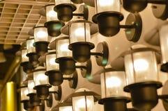 Beautiful design of lighting lamp Stock Image