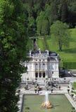 Linderhof Palace and garden Stock Photography