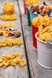 Beautiful design of pasta. Stock Photography
