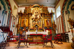 Beautiful Design in San Fernando Mission's Chapel Stock Image