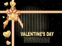 Beautiful design valentine card Royalty Free Stock Images