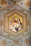 Beautiful designed interior of vatican Museum Royalty Free Stock Photography