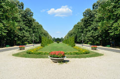 Beautiful designed park Royalty Free Stock Image