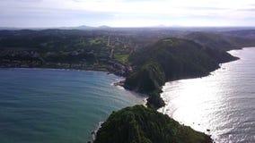 Beautiful destination Brazil Ponta do Pai Vitorio Buzios, Rio de Janeiro, aerial drone video footage. Rasa Beach, Armacao dos Buzios, Rio de Janeiro, Brazil stock video