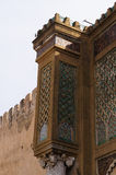 Beautiful detail of Bab el-Mansour gate in Meknes Stock Image