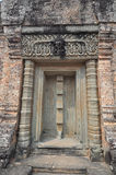 Beautiful detail of East Mebon Temple of Angkor, Cambodia Stock Photos